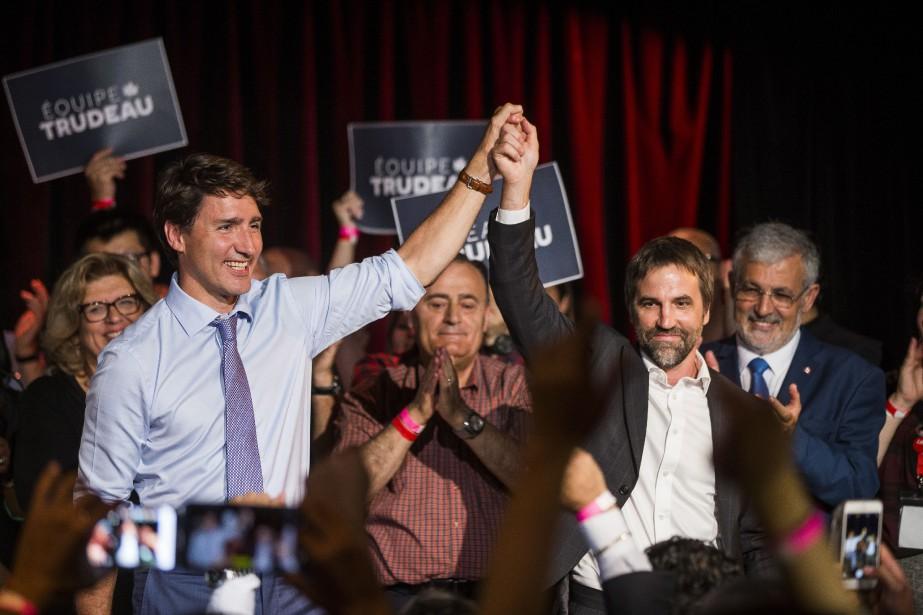 Steven Guilbeault officiellement candidat libéral | JANIE GOSSELIN | Politique