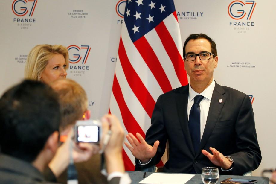 Taxation du numérique : des avancées au G7, « mais il reste encore du travail » (Mnuchin)