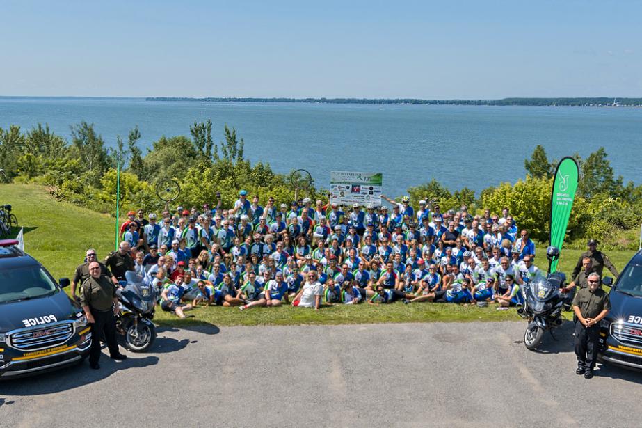 Le 13e défi-vélo de la maison des greffés... (Photo fournie par la Maison des greffés)