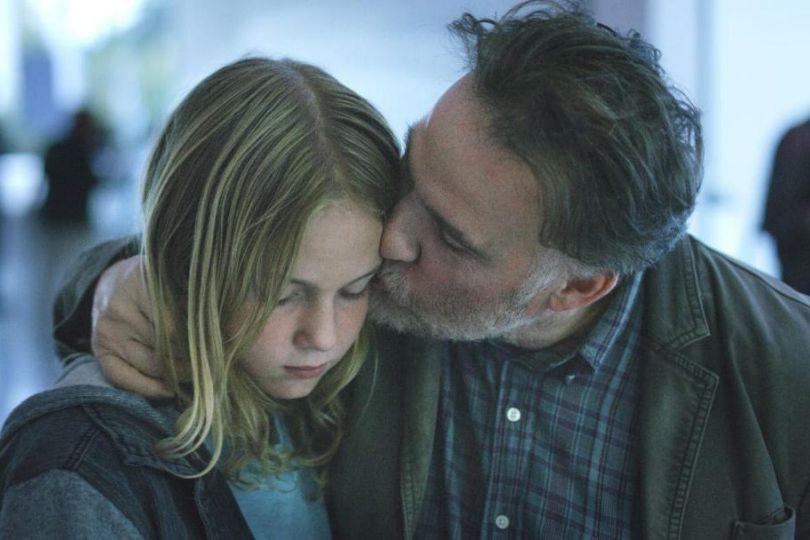 JustineLacroix etBouli Lanners dans C'est ça l'amour... (PHOTO FOURNIE PAR MARS FILMS)