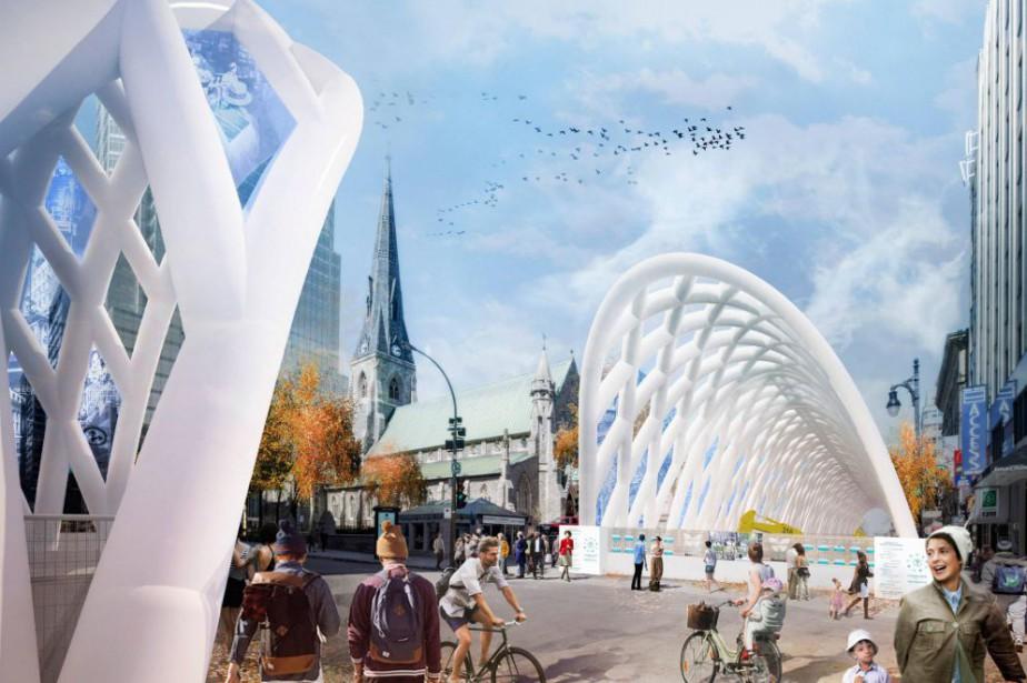 Concours d'architecture: un projet boudé par Montréal de nouveau primé