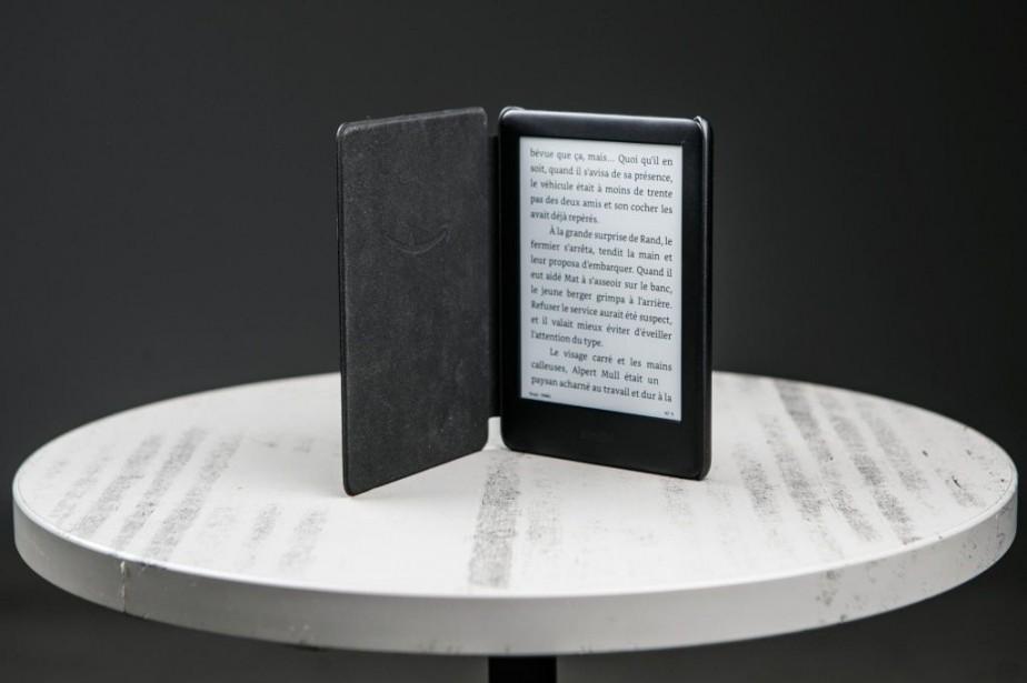 La Kindle 2019, 10egénération de ce modèle d'Amazon,... (PHOTO OLIVIER PONTBRIAND, LA PRESSE)