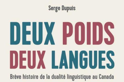 Deux poids, deux langues... (PHOTO FOURNIE PAR LES ÉDITIONS DU SEPTENTRION)