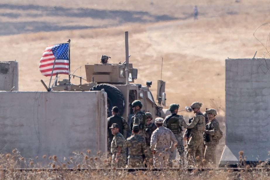 Des troupes américaines sous le feu de positions turques en Syrie