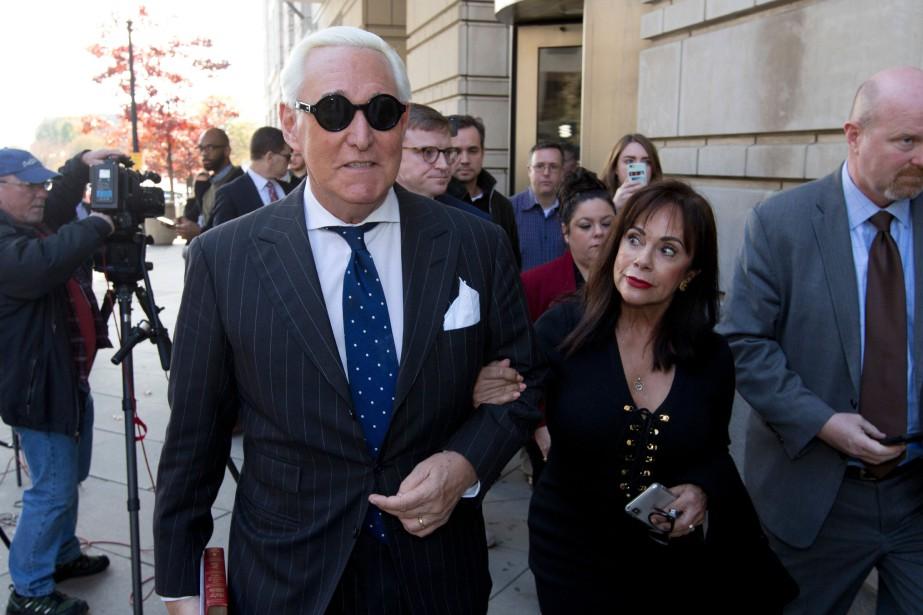 Roger Stone connaîtra sa peine le 6février prochain... (PHOTO AP)