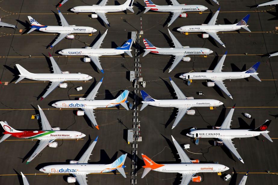 Boeing a affiché une perte de 1milliardUS au quatrième trimestre,...   2020-01-29 00:00:00.000