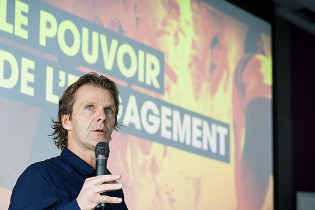 Pierre Lavoie est l'un des intervenants de renom de l'Institut de leadership. ()