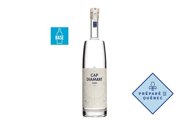 Vodka Cap Diamant, Distillerie de Québec, Québec ()