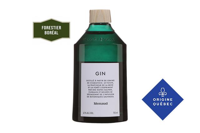 Gin, Distillerie Menaud, Charlevoix ()