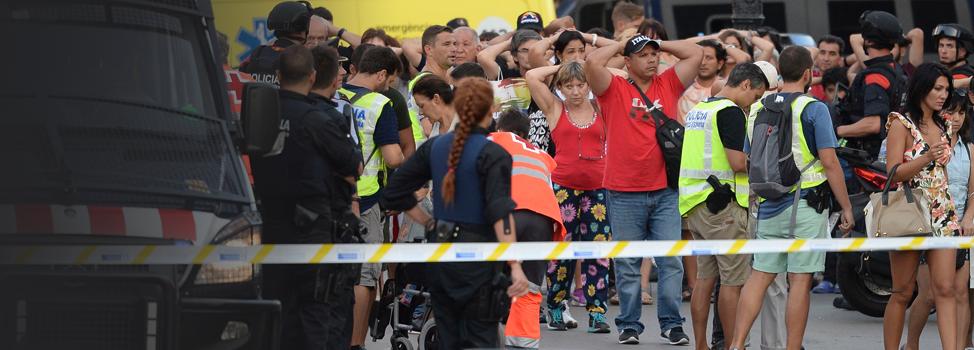 Attentat de Barcelone: 13 morts et plus de 50 blessés, deux suspects arrêtés