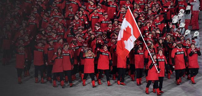 Jeux d'hiver: le Canada poursuit sur sa lancée amorcée en 2010