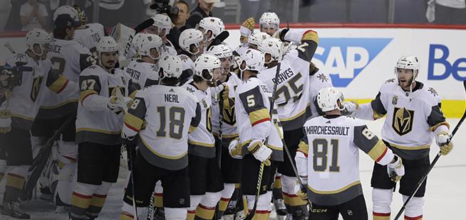 Les Golden Knights atteignent la finale de la Coupe Stanley