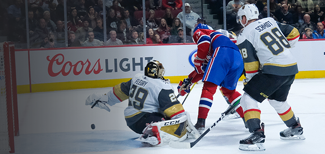 Golden Knights 2 - Canadien 3 (2e entracte)